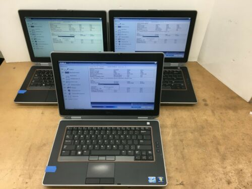 Windows 10 Pro 64-Bit Loaded Dell Latitude E6420 Laptop 320GB SATA Hard Drive